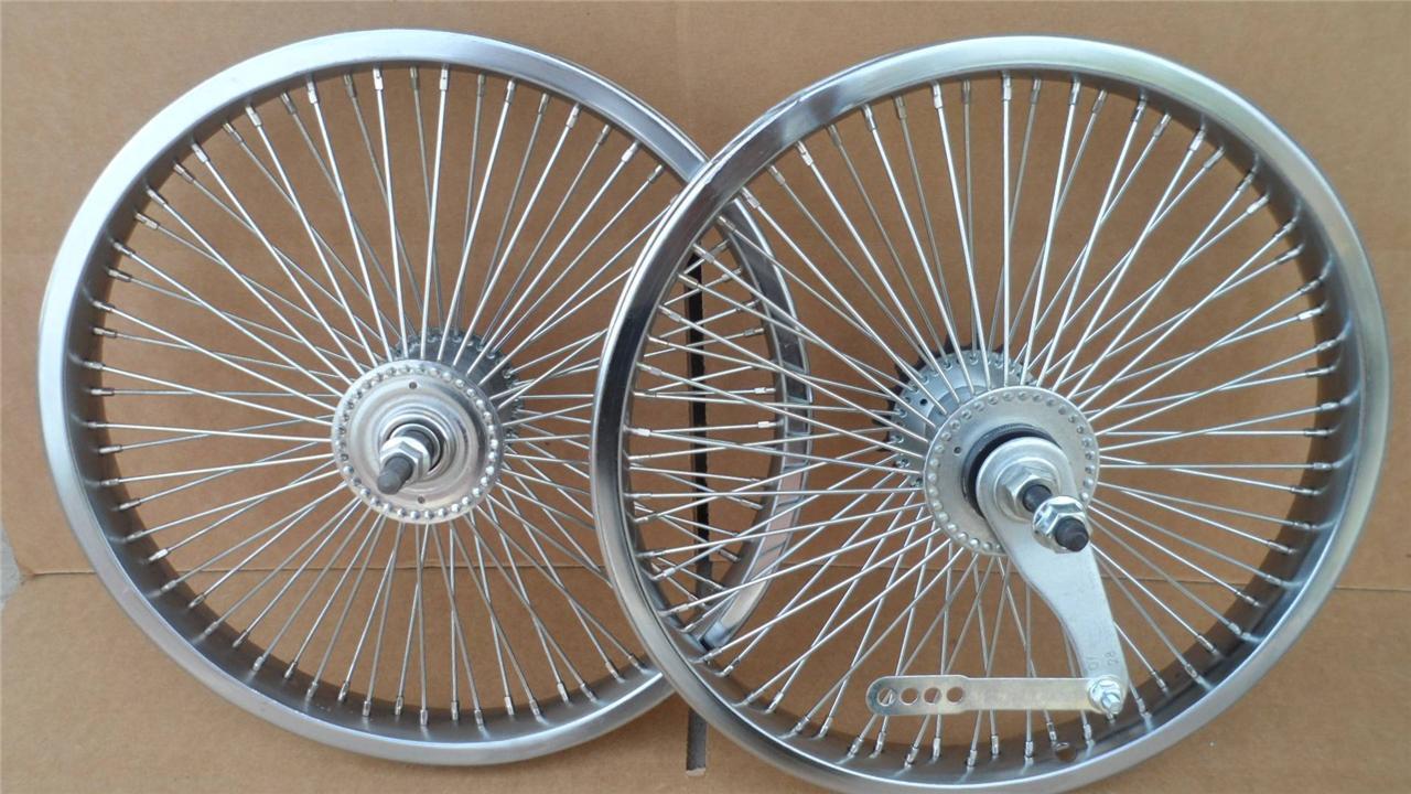 16 Lowrider Bicycle Dayton Wheels 72 Spoke Frontrear Set Bmx