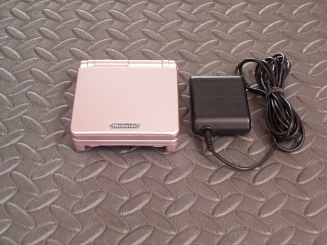 Nintendo Game Boy Advance SP Pearl pink Handheld System AGS001