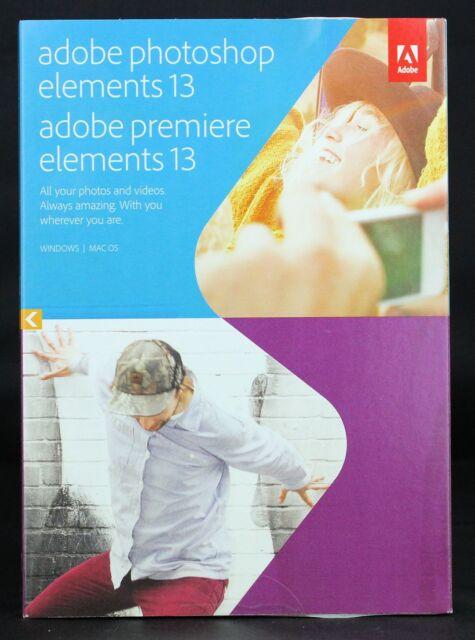 Adobe Photoshop und Premiere Elements 13 Windows & MAC 65237749