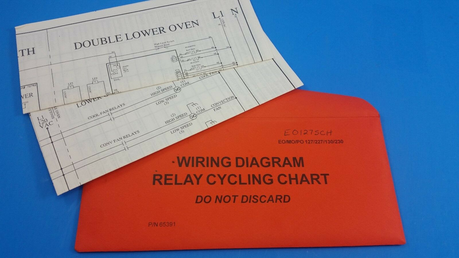 Wiring Diagram For Dacor Oven Trusted Diagrams Range 65391 Relay Cycling Chart C7 1a Ebay Cooktop