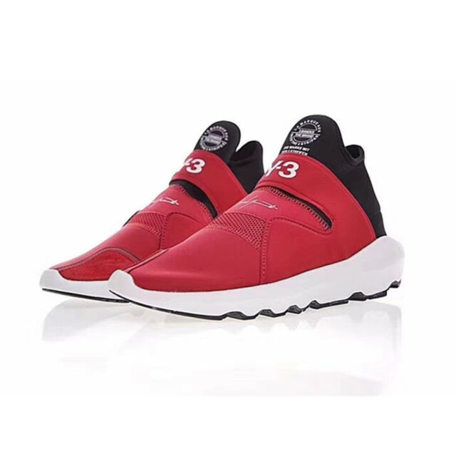 2018 Y3 Yohji Yamamoto Suberou Light Weight Breathable Men's Red Athletic Shoes