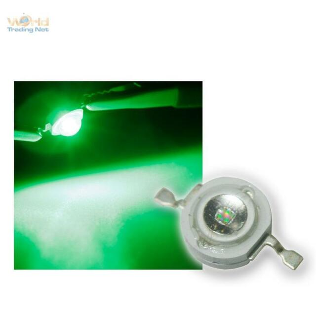10 HighPower LEDs 1w Green, 1 w Green High Power SMD LED 1 Watt 350mA