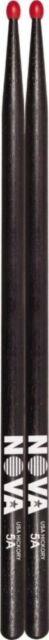 Nova By Vic Firth  VF-N5ANB Black 5A Nylon Tip Drum Sticks
