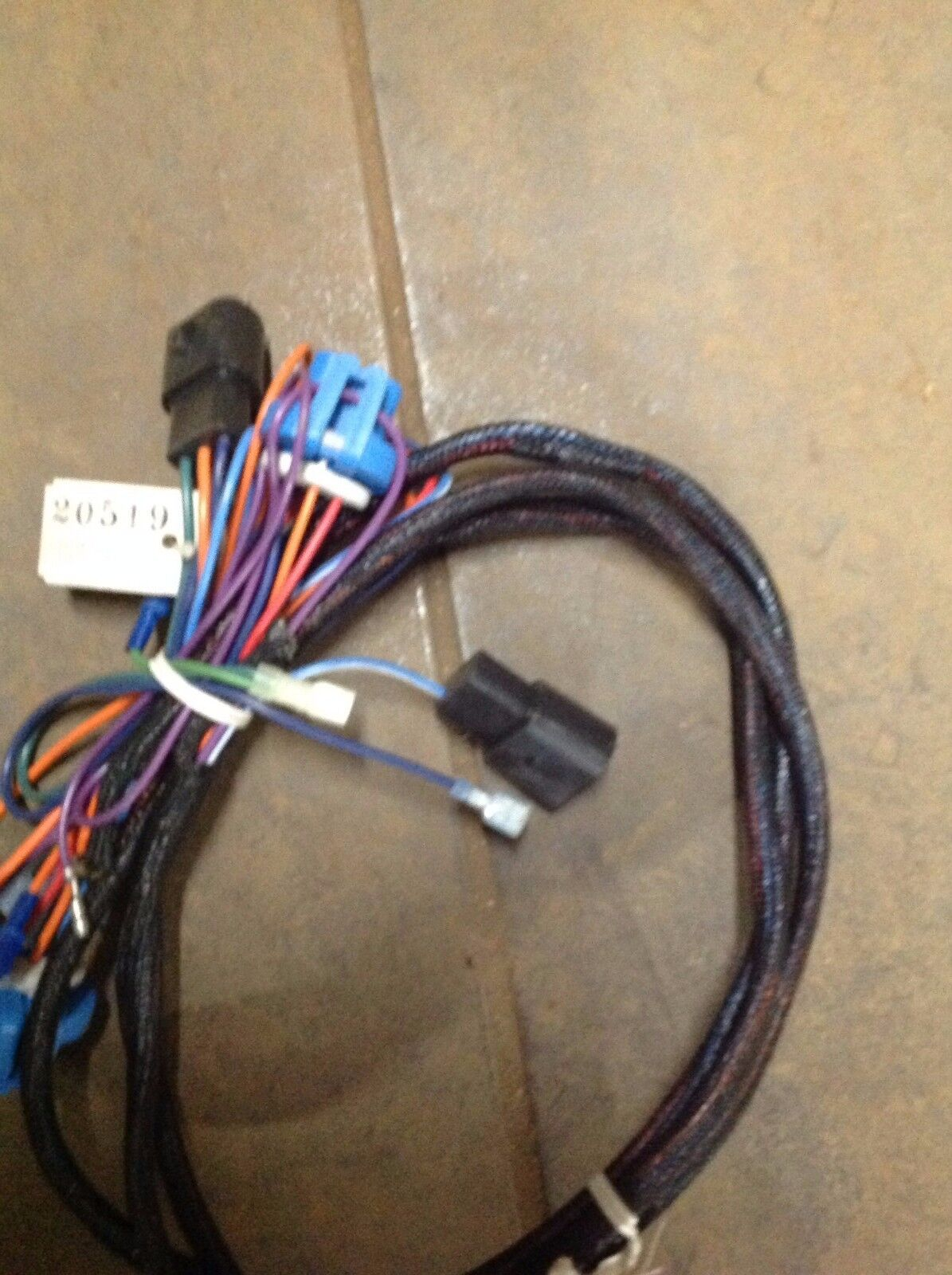 Fisher Snowplows 20519 Plug In Harness Hb1 Ebay Wire Picture 1 Of