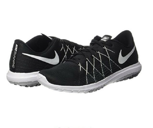 Nike Women's Flex Fury 2 Running Shoe Black/Wolf Grey/White Size 8.5 M