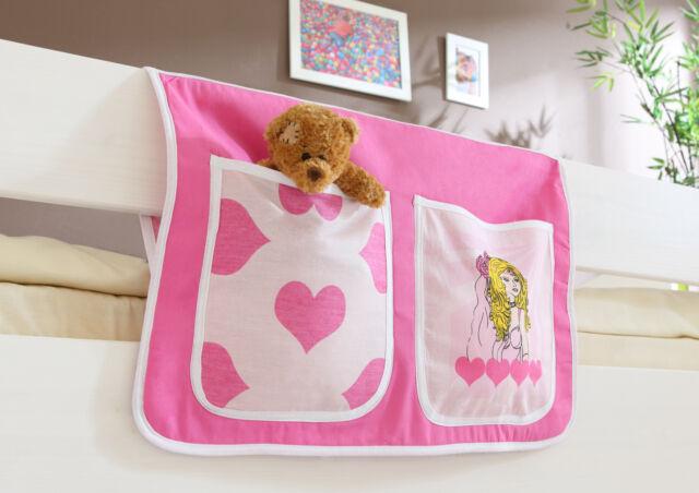 Etagenbett Prinzessin : Bett tasche für hoch und etagenbetten prinzessin cindy ticaa ebay