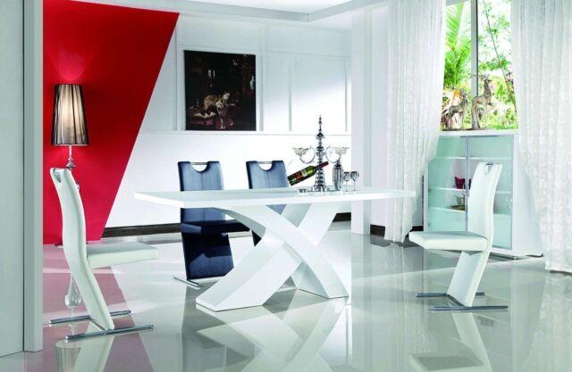 Holztisch Modern esszimmertisch 160x90 designertisch esstisch holztisch modern