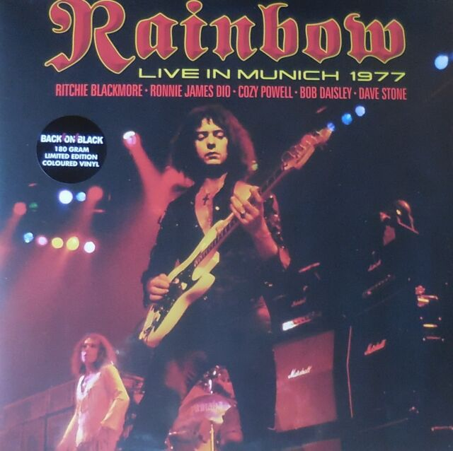 RAINBOW live in munich 1977 Foldout Sleeve 2LP NEU OVP