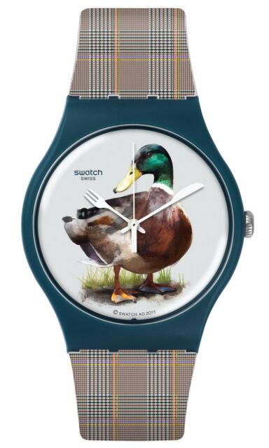 Swatch Wrist Watch duck-issime suon118