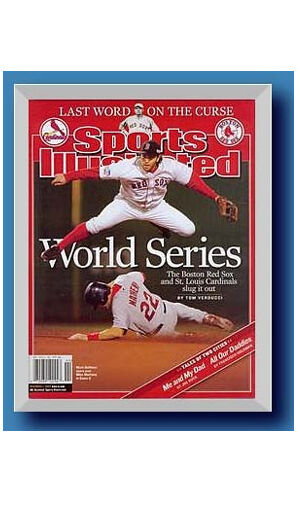Hobby Frames Magazine Display Frame Fits Sports Illustrated Gold or ...