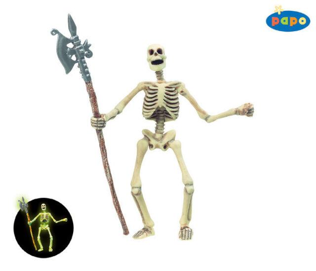 Papo 38908 Nachtleuchtendes Skelett 12 cm Fantasy