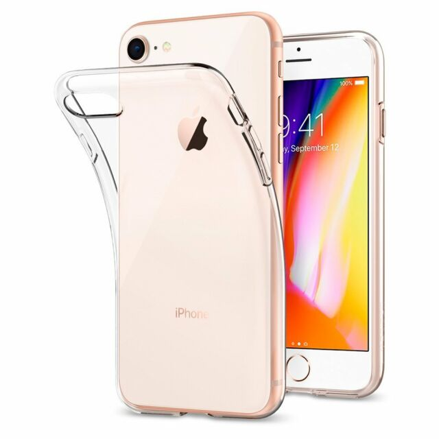 "Ultraslim Silikon Hülle für iPhone 8 TPU Case Cover transparent Tasche 4.7"""