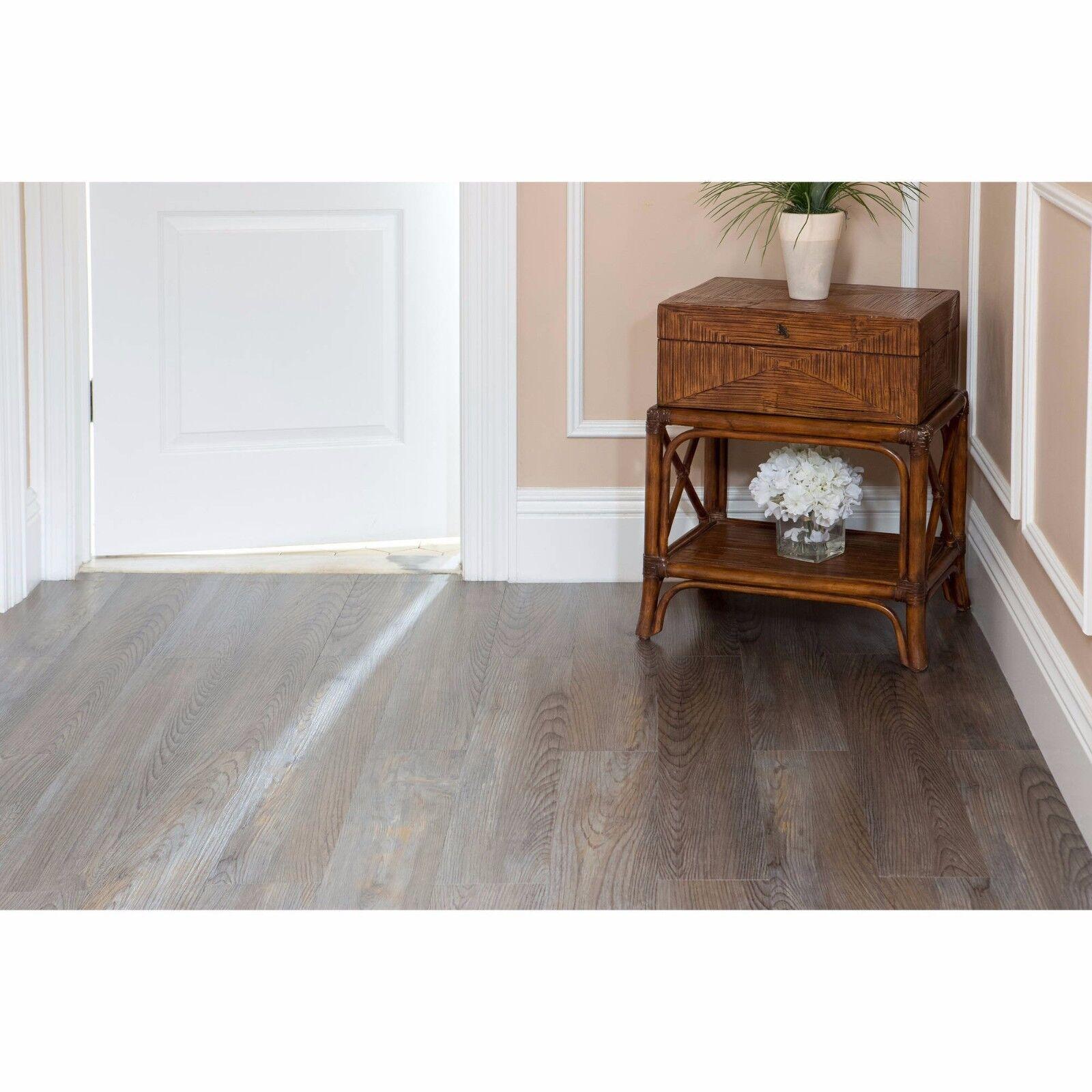 Vinyl Floor Planks 10 Pack Sticky Flooring Luxury Like Real Wood