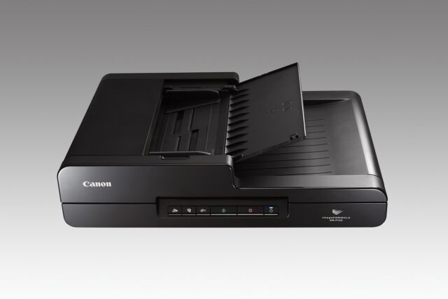 CANON DR-F120 Dokumenten-Scanner (A4, 600 x 600 dpi, 20 Seiten/Min, Duplex)