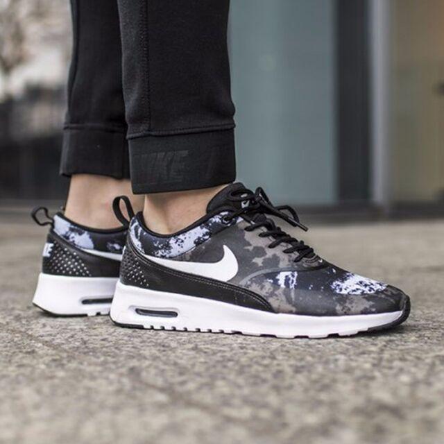 descuento salida Nike Air Max Zapatillas De Deporte Para Mujer De Impresión De Funcionamiento Thea de descuento eBay UpohKLR