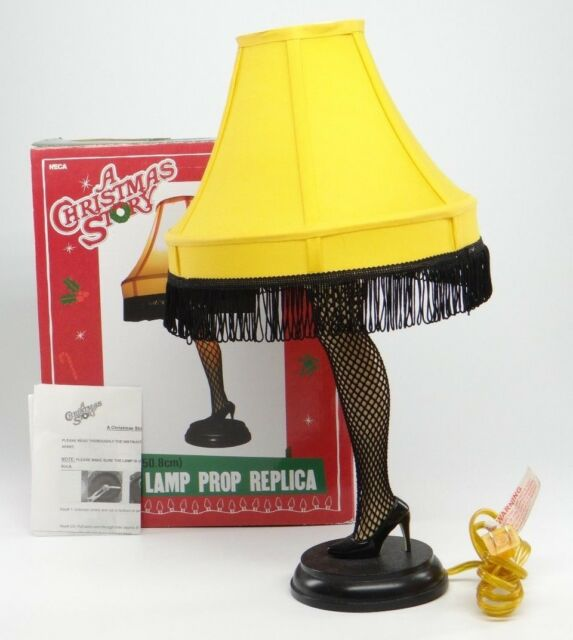 Great A CHRISTMAS STORY ~ 20 INCH LEG LAMP PROP REPLICA~NECA Fragile Movie Warner