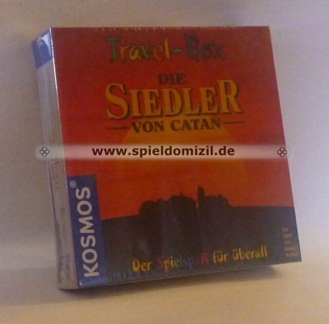 SIEDLER von CATAN * TRAVELBOX Special Edition Reisespiel RARITÄT * wie NEU * TOP