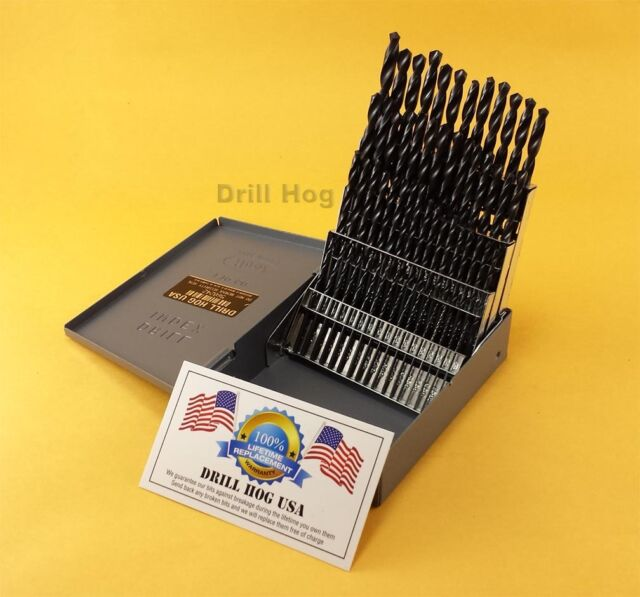 Drill hog 60 pc number drill bit set wire gauge bits moly m7 drill hog 60 pc number drill bit set wire gauge bits moly m7 lifetime warranty greentooth Gallery