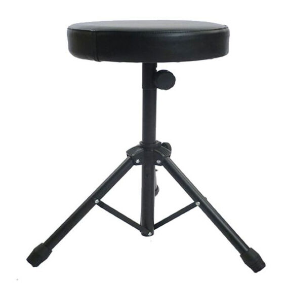 Folding Music Guitar Keyboard Drum Stool/Throne Piano Chair DOUBLE PADDED Seat  sc 1 st  eBay : guitar stools and chairs - islam-shia.org
