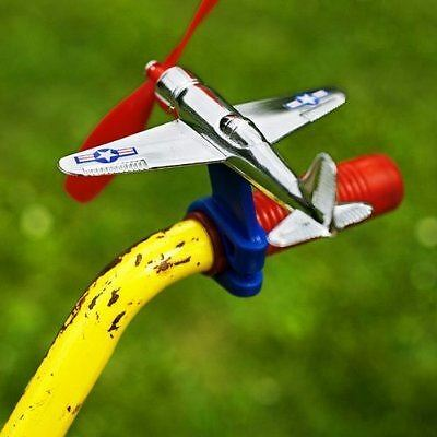 Schylling Bike Airplane For Bicycle Handlebar Cycling Accessories For Kids