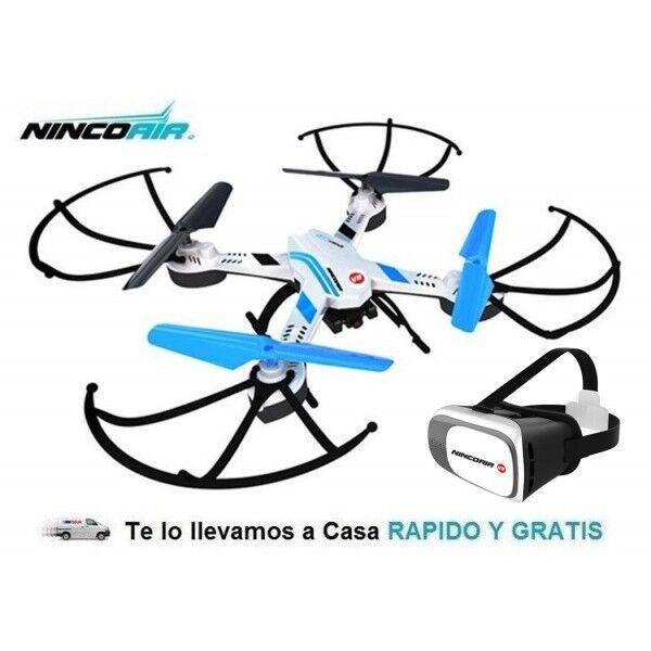 Drone Radiocontrol Sport Con Cámara WiFi VR 2,4Ghz 3D Dron Rc FPV Ninco NH90113