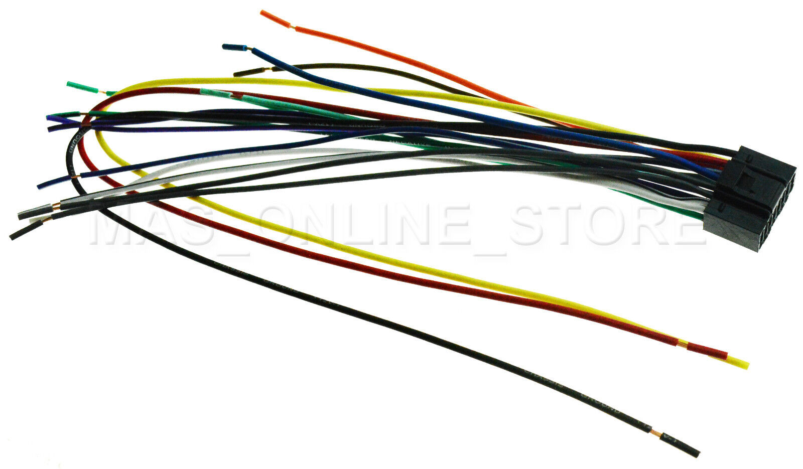 Wire Harness For Kenwood Kdc X997 Kdcx997 Pay Today Ships Ebay Well As Wiring Picture 1 Of 4