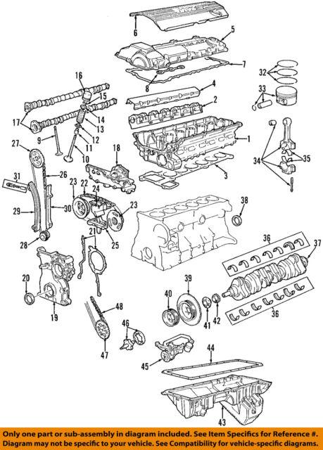 oil pan bmw z4 1264998 03 04 05 assy 2 5l ebay rh ebay com bmw z4 e85 engine diagram BMW Z4 Complaints