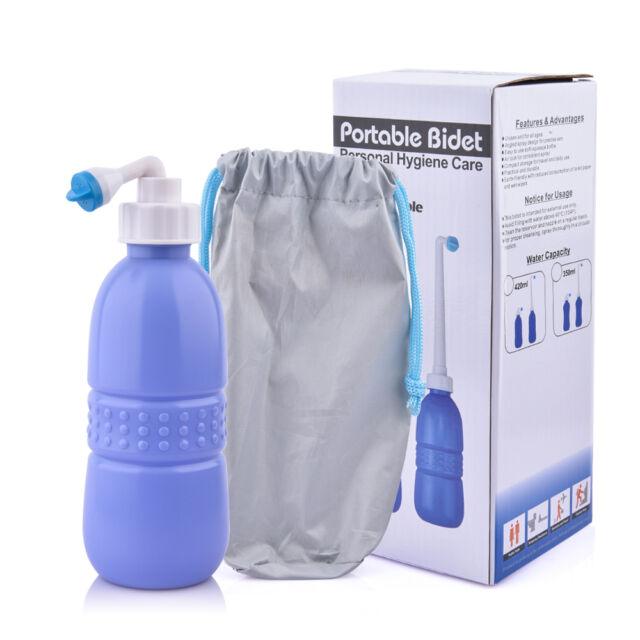 Awesome 420ml Multi Function Handheld Travel Bidet Personal Hygiene Bottle Women  Babies