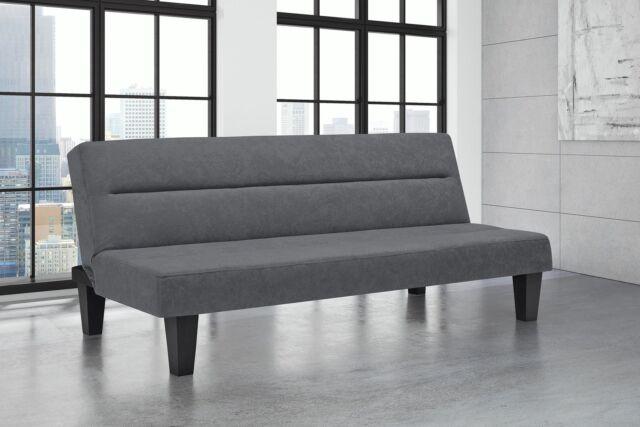 Futon Sofa Bed Modern Guest Den Furniture Couch Sleeper