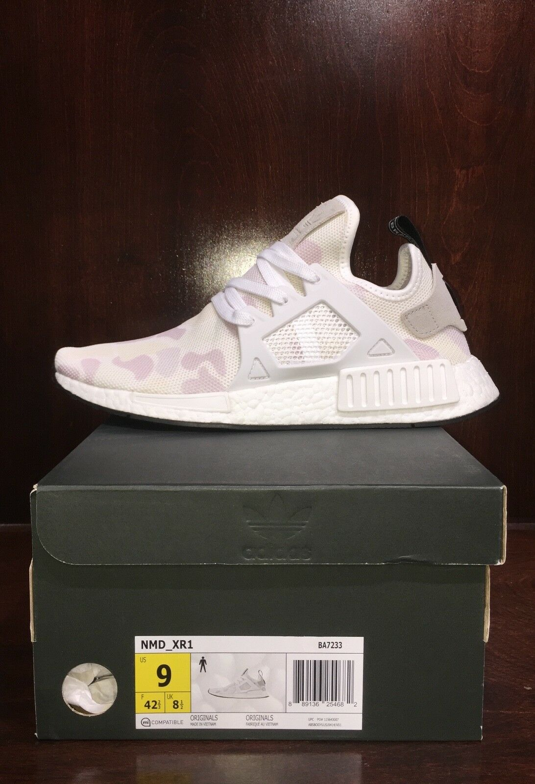 ab62ace426bbd 代購æ 洲公 貨Adidas Originals NMD XR1 S32218 é