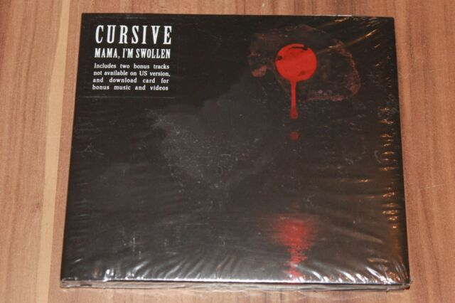 Cursive - Mama, I'm Swollen (2009) (CD) (Saddle Creek - SCE132CD) (Neu+OVP)