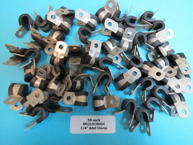 BULK UMPCO MS 21919 DG 4 Cable Wire Bundle Tube Clamps   eBay