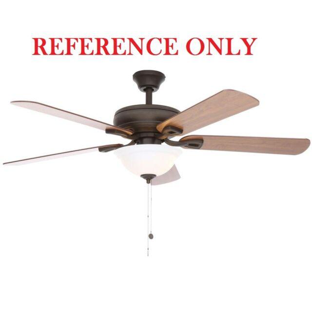 Hampton bay rothley ceiling fan 52 in canopy bronze ebay hampton bay rothley 52 in indoor oil rubbed bronze ceiling fan blade bracket aloadofball Gallery