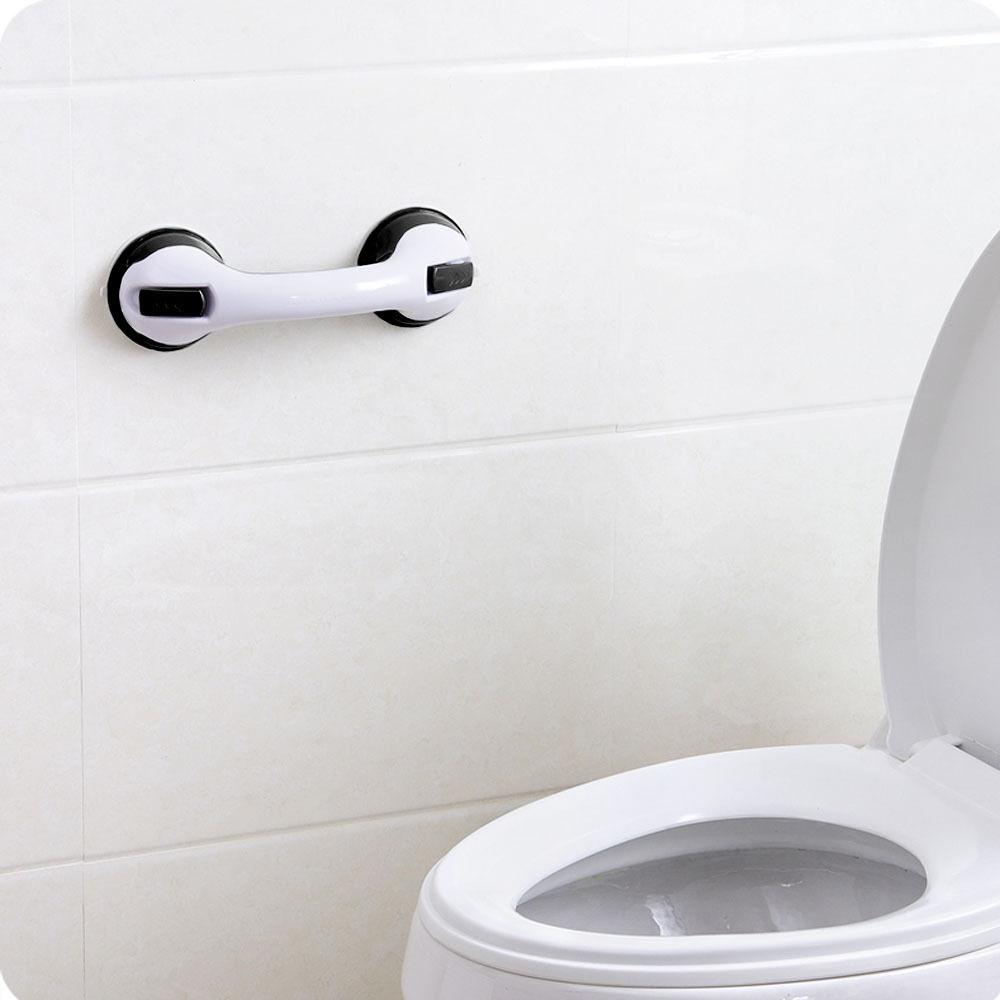 Bath Shower Grip Handle Bathroom Suction Grab Bar Safety Rail Tub ...