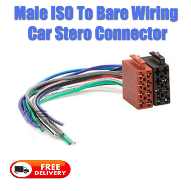 s l640 autoleads car radio lead all iso radios pc3 08 ebay  at creativeand.co