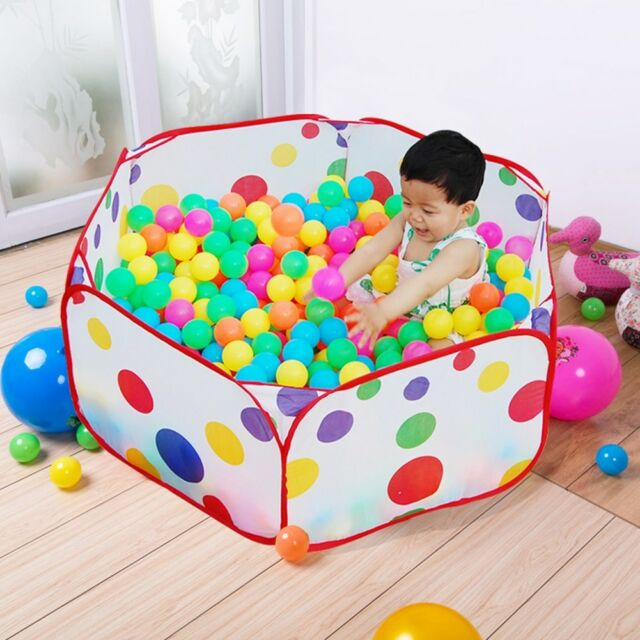 Portable Kids Toy Ocean Ball Pit Pool Indoor Outdoor Baby Game Play Tent Hut  sc 1 st  eBay & Portable Kids Toy Ocean Ball Pit Pool Indoor Outdoor Baby Game ...