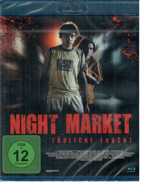 Night Market - Tödliche Fracht - Blu-ray - NEU OVP