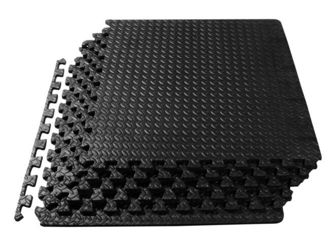 54 Tiles 216 SQ FT Interlocking Eva Foam Floor Mat Flooring Gym ...