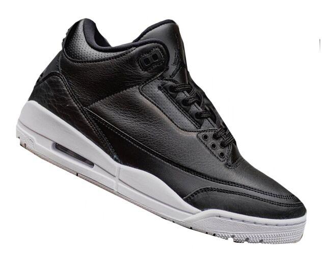 Nike Mens Air Jordan 3 ORIGINALI Scarpe da corsa 136064020us UK 11 NUOVO CON