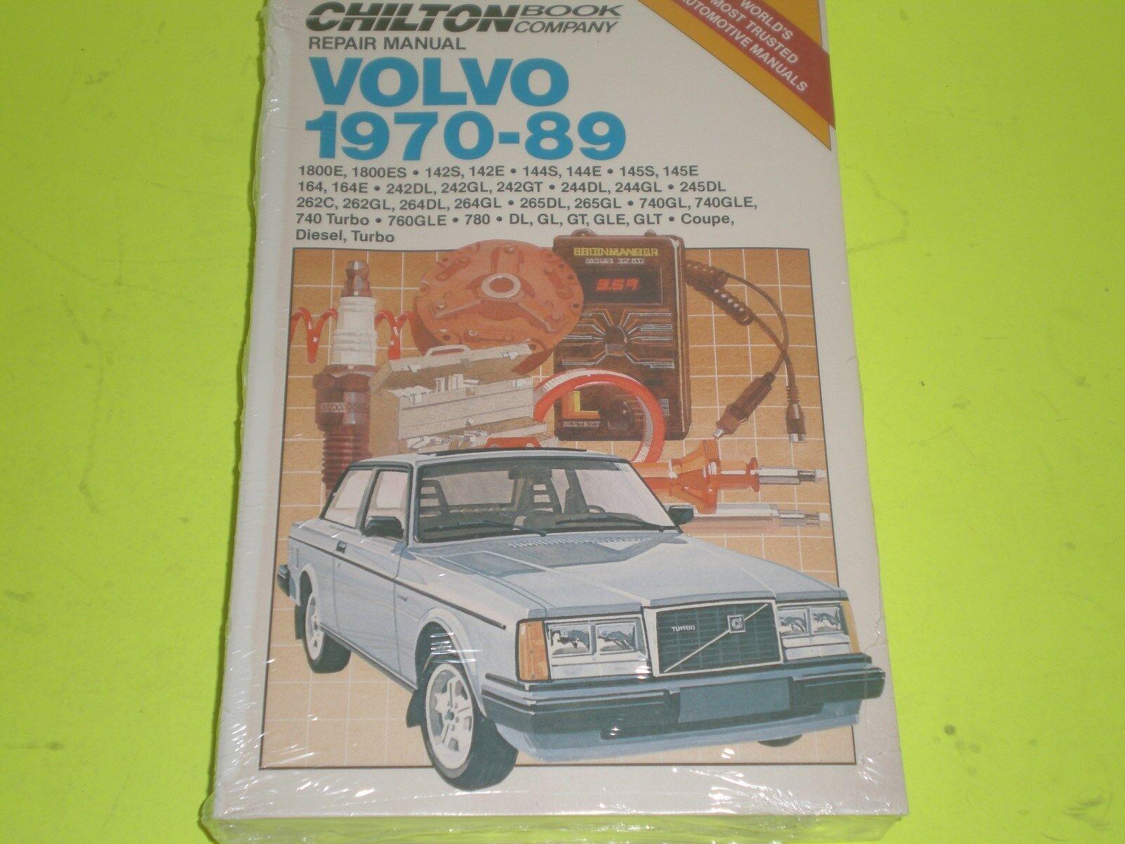 chilton auto repair manual volvo 1970 1989 many models 1800 142 144 rh ebay com Do Yourself Car Repair Manual Ford Auto Repair Manuals Online
