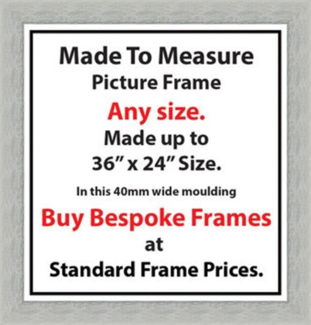 Bespoke Custom Made Picture Frames Photo Frames Poster Size Frames ...