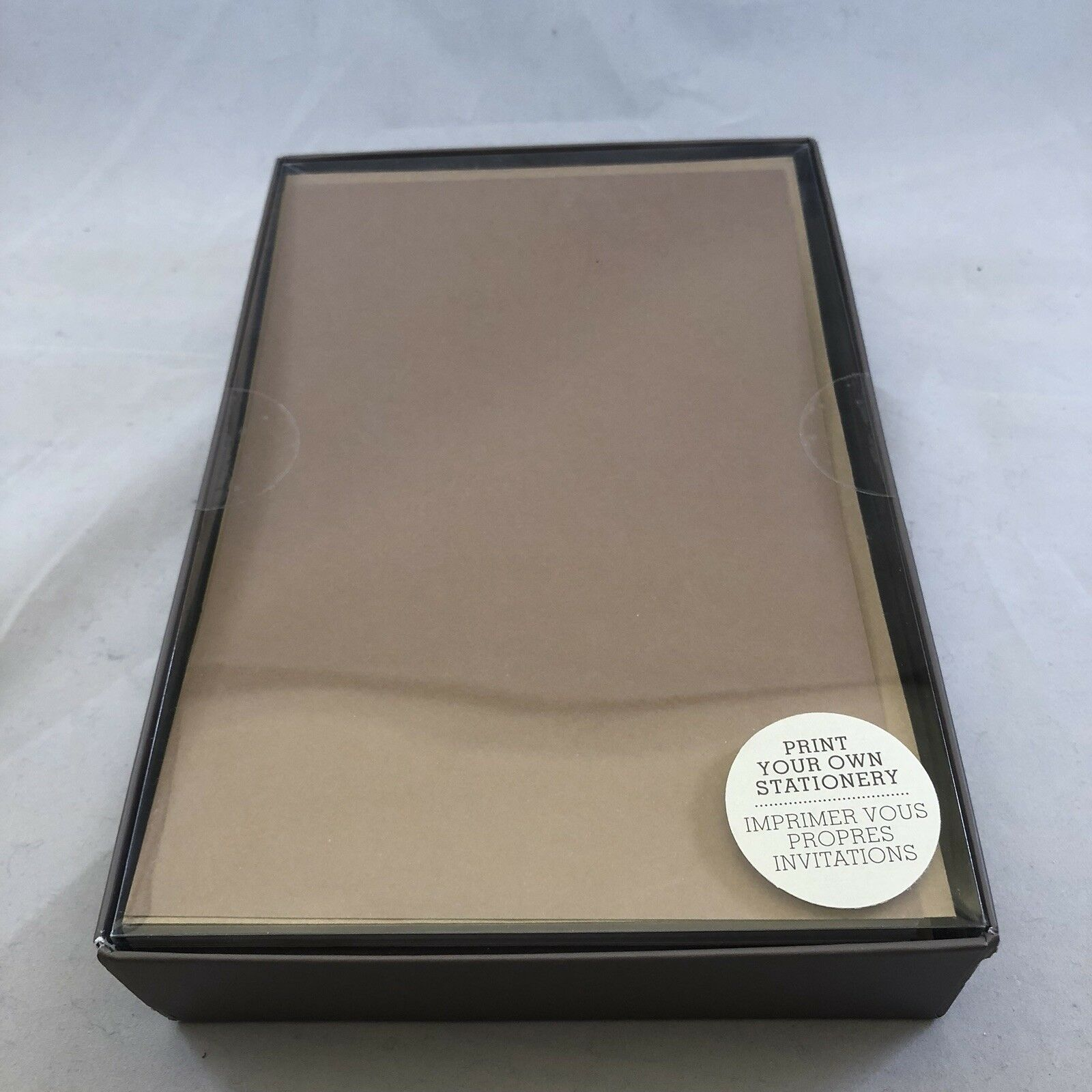 American Greetings Brown Stationery 50 Sheets 50 Envelopes Ebay