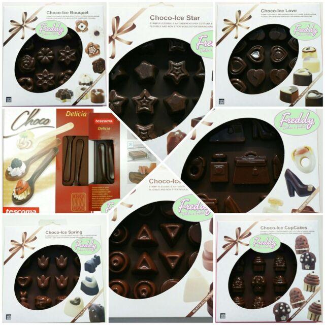 stampo per cioccolattini silicone flessibili antiaderenti cottura surgelazione