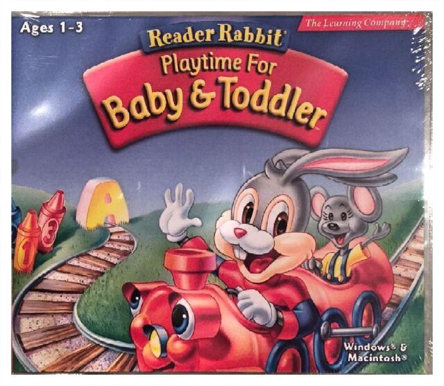 Reader Rabbit Playtime For Baby Toddler PC Kids