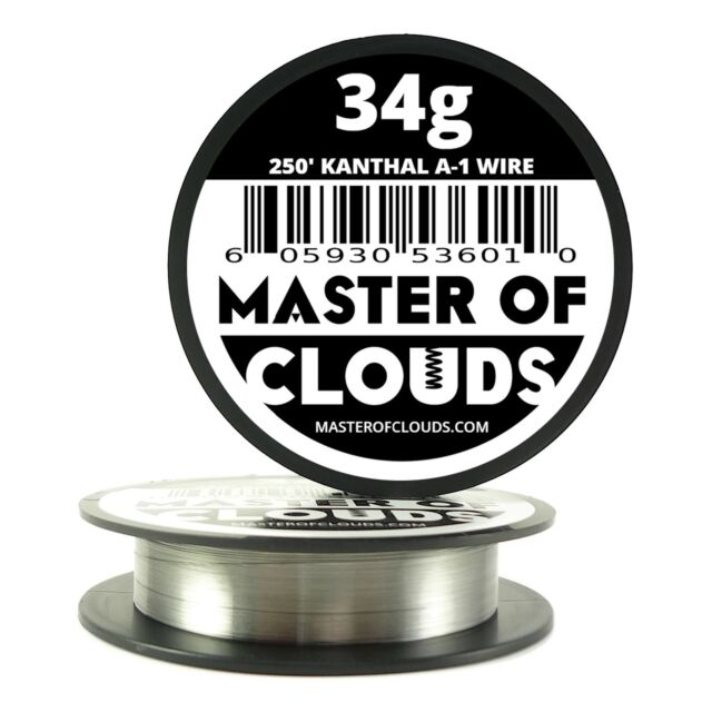X 250 ft 34 gauge awg a1 kanthal round wire 016mm a 1 34g ga 250 250 ft 34 gauge awg a1 kanthal round wire 016mm resistance a 1 keyboard keysfo Gallery