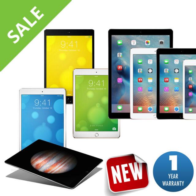 Promo - Apple iPad Air,mini,Pro, 2,3,4 | 16GB-32GB-64GB-128GB-256GB Wi-Fi Tablet