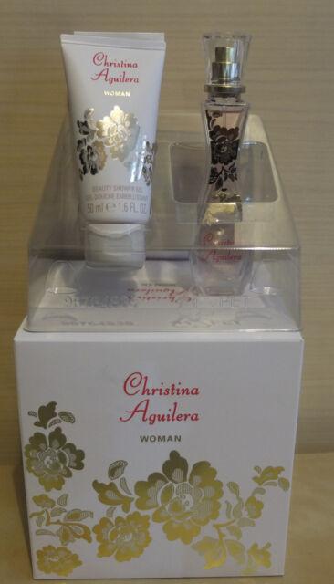 CHRISTINA AGUILERA  Woman Geschenkset EAU DE PARFUM SPRAY  30 ML Duschgel BL NEU