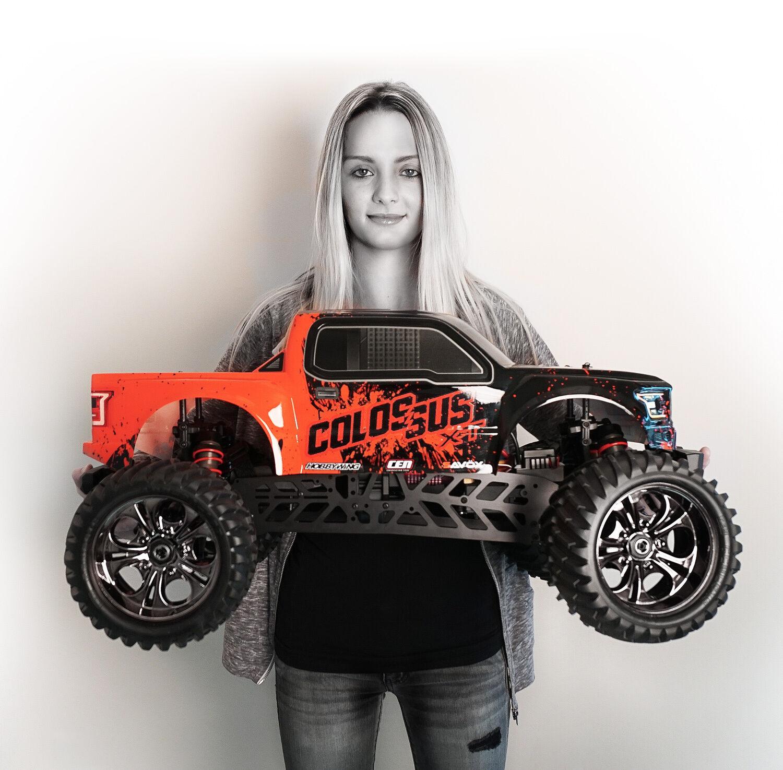 Ceg9519 Cen Racing Colossus Xt 4wd Monster Truck Rtr Brushless 40