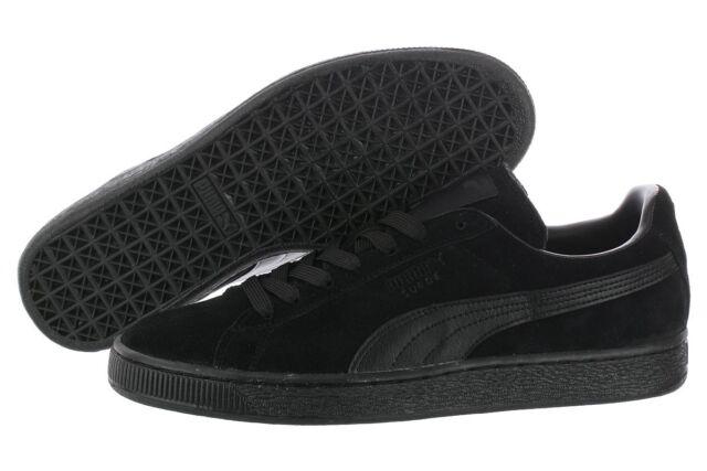 Puma Suede Classic LFS 35632801 Black Casual Sneakers Shoes Medium D       M  Men