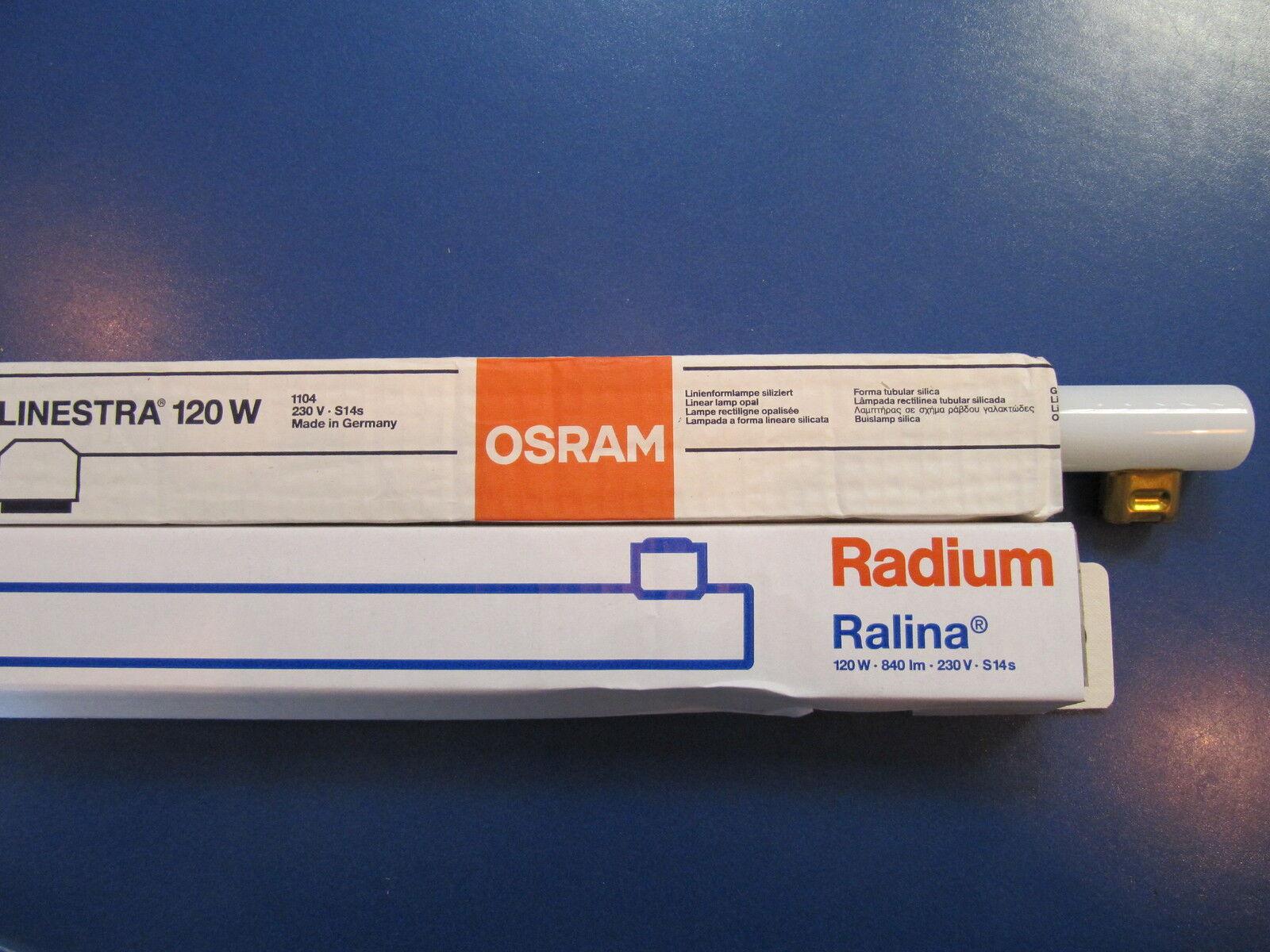 Osram Linestra osram linestra radium ralina 120w s14s opal white line l 230v